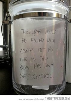 I think Brant would want to make a jar like this since the kids and I are always stealing from his candy jar. Lol.