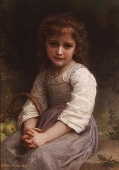 Apples by William-Adolphe Bouguereau