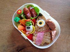 posted from @iiizzzmmm お化け〜ハロウィンに日本のお化け! #obentoart #obento
