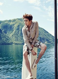 Nick Khun - Allure Magazine June Issue '14