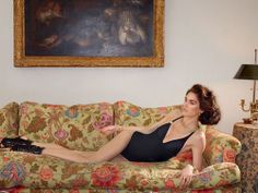 Summer Pleasures By SofiaCoppola - Journal - I Want To Be A Coppola -  model Hilary Rhoda photographed by Roe Etheridge in the home of Cornelia Guest daughter of legendary hostess C. Z. Guest.