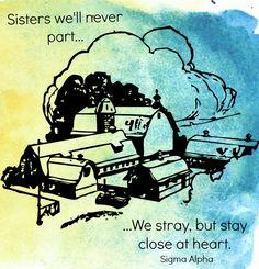 Sisters Sigma Alpha by SA Upsilon Chapter