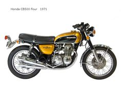 Honda cb500 four 1971