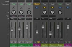 Why and How to use Logic Pro X 10.1 VCA Faders - BLOG. – One major new feature in Logic Pro X 10.1 is VCA faders and VCA grouping. In a large analogue mixer, a VCA (Voltage Controlled Amplifier) is a channel gain control. This allows the engineer to control several faders in a group all together while maintaining any offsets within them... #logicprox101vcafaders #vcafadervxauxtrack #vcavsaux