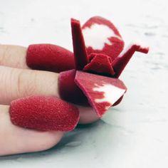 3D printed bird nail transforming