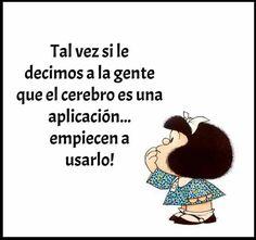 Mi Mafalda es unica jajaja😂😂
