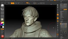 Making Gunfire Studios Chronos in ZBrush