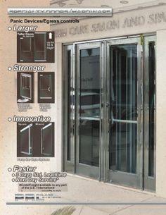PRL Panic Door Devices and Egress Controls & PRL Panic Door Devices and Egress Controls | Ladder Pulls u0026 Door ...
