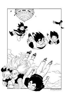 Dragon Ball Gt, Dragon Art, Son Goku, Dragonball Super, Krillin And 18, Goku Pics, Chihiro Y Haku, Dbz Memes, Character