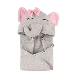 Hudson Baby Unisex Baby Animal Face Hooded Towel, Pretty Elephant One Size Feature Product Adorably detailed animal face on hood Mad. Baby Shower Gifts, Baby Gifts, Baby Flannel, Hooded Bath Towels, Baby Washcloth, Baby Towel, Towel Girl, Baby Warmer, Animal Faces