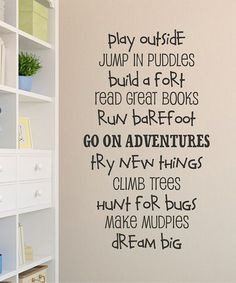 Love this 'Boys Are Great' Wall Decal by Wallquotes.com by Belvedere Designs on #zulily! #zulilyfinds