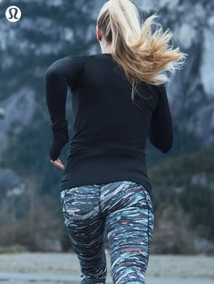 Rip it up | One-of-a-kind prints on technical lululemon run gear
