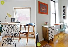Roundup: 10 Easy DIY Worktops and Desks You Can Make Yourself!