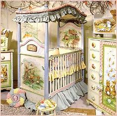 images of beatrix potter theme rooms | work of art, it will become the main attraction in your baby's room ...