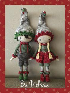 Christmas elves amigurumi