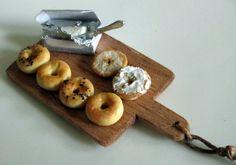 Bagle and Cream cheese by Asakomini