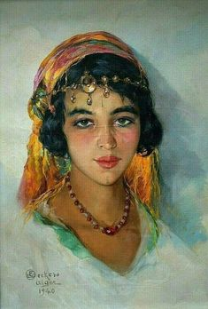 Arabian Women, Arabian Art, Art Arabe, Art Sketches, Art Drawings, Spanish Gypsy, Gypsy Girls, Photo Finder, Islamic Art