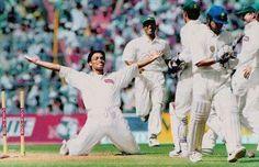 minutes ago On this day Shoaib Akhtar bowled Sachin Tendulkar for a golden duck in a Test match in Kolkata Pakistani News Channels, Fast Bowling, Sachin Tendulkar, West Indian, My Attitude, The Clash, Green Shirt, Haiku, Espn