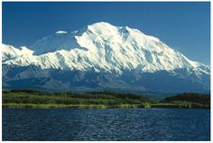 "Photo of Denali – Mt. McKinley, Alaska, the highest point in North America. Credit: Wikimedia Commons. Read more on the GenealogyBank blog: ""Alaska Archives: 29 Newspapers for Genealogy Research."" http://blog.genealogybank.com/alaska-archives-29-newspapers-for-genealogy-research.html"