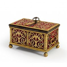 A SOUTH GERMAN JEWEL CASKET, NUREMBURG OR AUGSBURG, CIRCA 1600