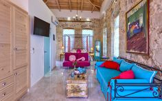 Our new panthouse suite! https://www.facebook.com/AVLI.Rethymno Crete - Rethymno - Avli Lounge Apartments www.avli.gr
