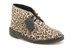 Womens Originals Boots - Desert Boot in Animal Print from Clarks shoes