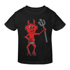 Red Devil Gildan Youth T-shirt Scary Halloween Images, Devil, Sunnies, Youth, Model, Red, Mens Tops, T Shirt, Fashion