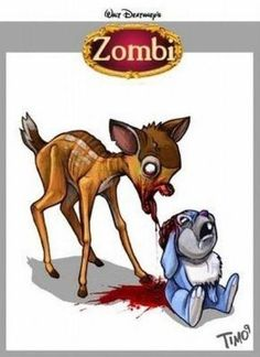 Your Favorite Childhood Cartoon Characters Reimagined As Zombies