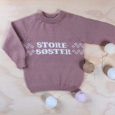 Storesoster_1 Baby Barn, Eco Baby, Onesies, Pure Products, Wool, Sweaters, Kids, Clothes, Fair Isles