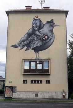 Street Art 2016- Street art in Finland by Pallo