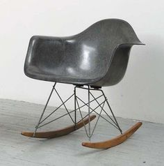 Someday…I will have an Eames rocking chair in a perfectly faded hue–evidence that someone else loved it before me.