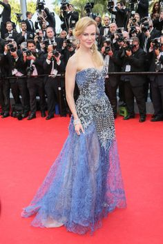 Red-carpet looks from the Cannes Film Festival: Nicole Kidman in Armani Privé.