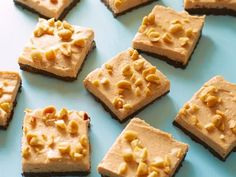 Get Food Network Kitchen's Healthy No-Bake Chocolate-Peanut Butter Bars Recipe from Food Network