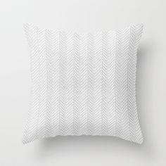 Herringbone DIY Throw Pillow by Project M - $20.00