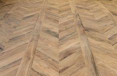 Sienna Millelegni Scottish Oak Chevron & Plank Porcelain Tile.