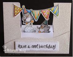 HappyBrrrthday- Centre Step Card w/ video instructions