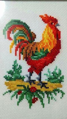 Small Cross Stitch, Cross Stitch Kitchen, Cross Stitch Needles, Cross Stitch Bird, Cross Stitch Animals, Modern Cross Stitch, Cross Stitch Flowers, Cross Stitching, Cross Stitch Embroidery