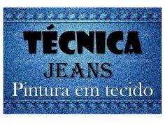 TED#23 Efeito Jeans na pintura em tecido . - YouTube