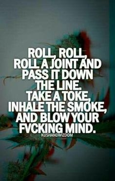 Roll a joint, and another, and another one. #joint #420 #ganja