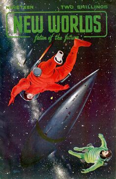 Thrilling Vintage Sci-Fi Magazine Cover Art