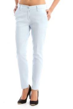 Pantolon - Buz mavisi #modasto #giyim #moda https://modasto.com/-/kadin/br3019ct2