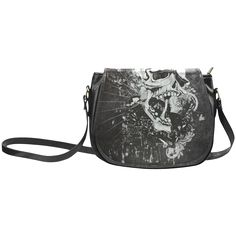 Classic Saddle /Large (Model thanks to the customer! sold at Dark Gothic, Large Bags, Saddle Bags, Bucket Bag, Skull, Classic, Model, Derby, Big Bags