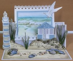 Astrids Kaarten: Nog wat strandkaarten!
