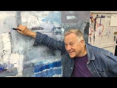 "BobBlast 95 ""Drawing Back onto an Acrylic Painting"" - YouTube"
