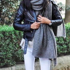 Cool in leather credit: @pepamack #fashionlocker123