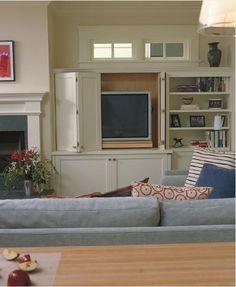 tv escondida