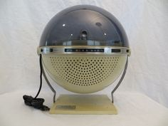 Vintage 70s Old Sanyo Psychedelic Disco Mirror Ball Antique Phonograph Radio | eBay