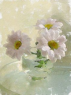 3 daisies, artist?