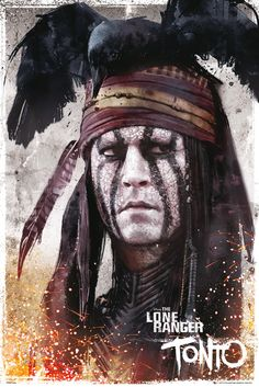 The Lone Ranger - the first cowboy ranger themed movie I actually LOVED.