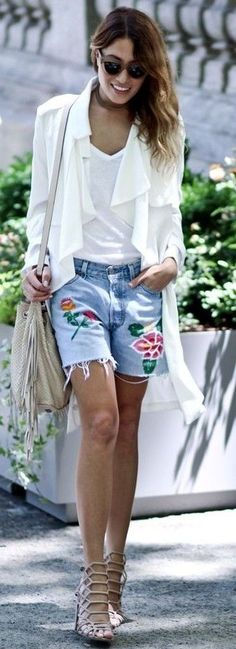 #summer #casual #outfits | White + Divine Denim